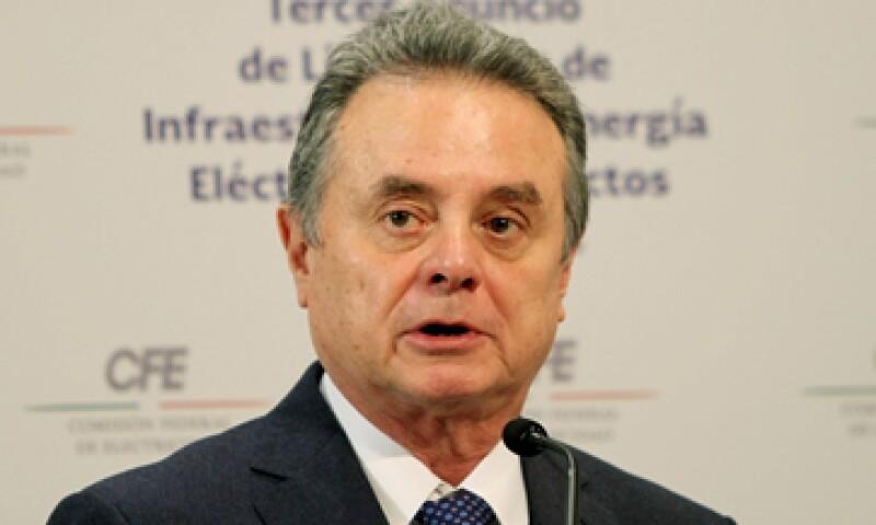 Pedro Joaquín Coldwell, titular de Energía, dijo que se analiza la postergación de otras licitaciones. (Foto: Notimex )