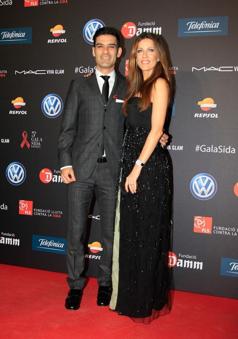 La pareja asistió a la quinta edición de la Gala Sida Barcelona, cuyo fin es recaudar fondos para la investigación y combate del virus.