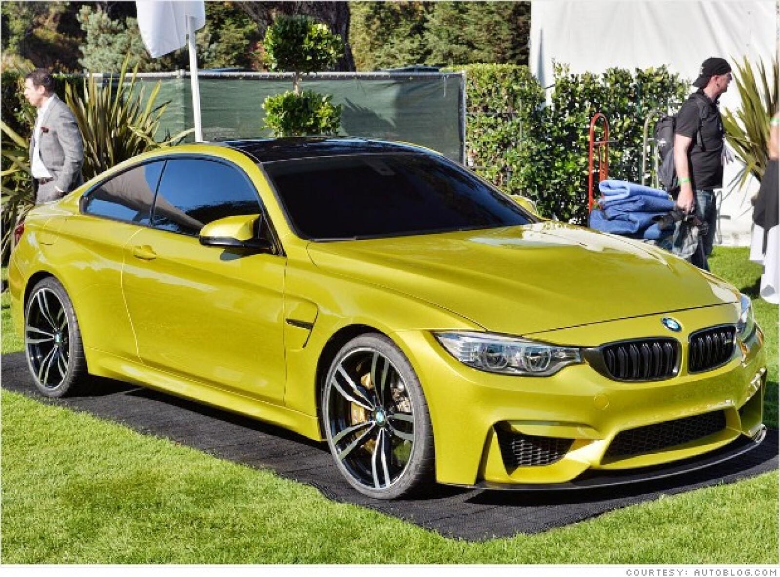 El salón del automóvil anual de Pebble Beach presenta en su mayoría autos de colección de gama alta. BMW dio a conocer una versión concepto cercana a la producción de su próximo coupé M4 de alto rendimiento. Con acabados en un llamativo, aunque un poco ex