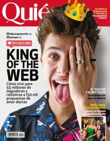 Juanpa Zurita en portada de Quién