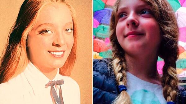 La hija de la actriz Edith González y el político Santiago Creel está dejando atrás su imagen infantil para convertirse en una teen llena de talento.