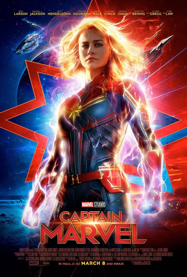 Poster Capitain Marvel