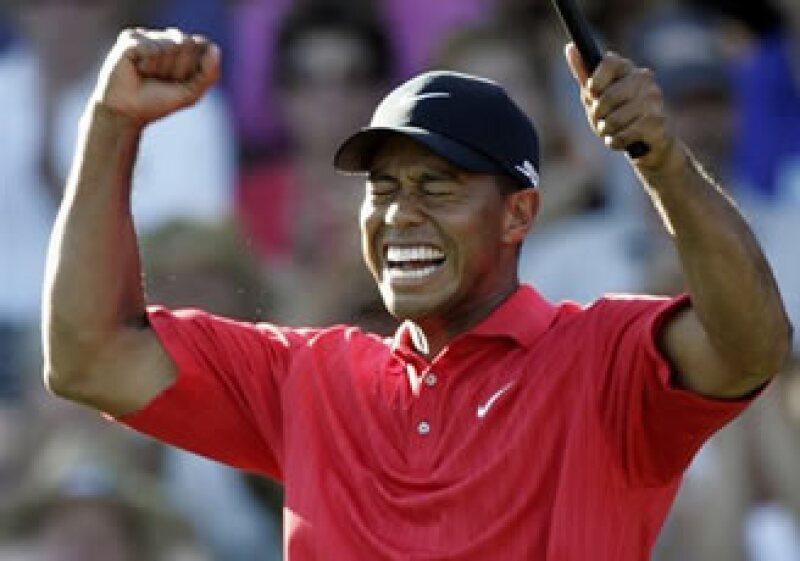 Tiger Woods encabezó las preferencias, seguido de Lance Amstrong. (Foto: Archivo)
