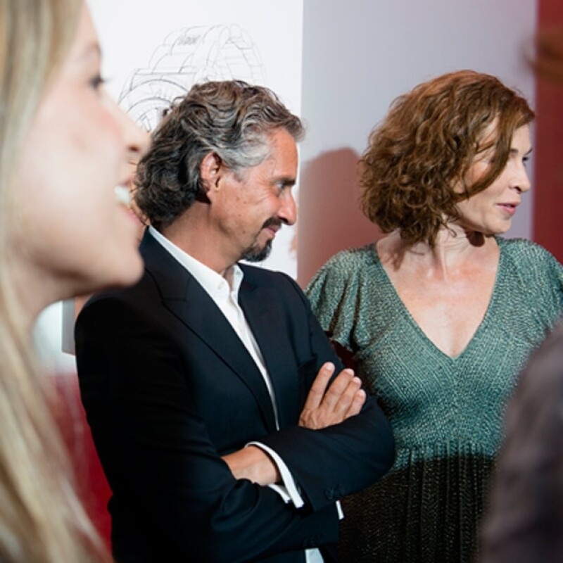 Miguel Ángel Aragonés y Ana Aragonés.