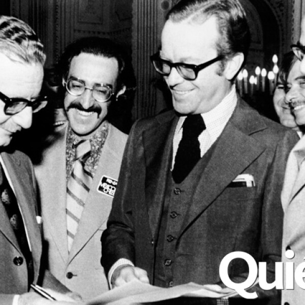 Con Salvador Allende.