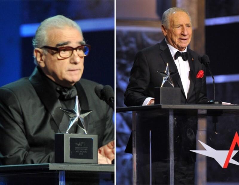 Martin Scorsese anuncia el premio para el reconocido de la noche: Mel Brooks.