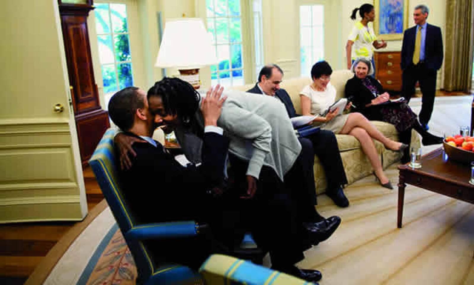 Auma Barack es la media hermana más cercana de Obama, aunque la conoció personalmente en Chicago hace apenas dos décadas.