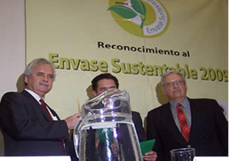 La entrega de premios se realizó en el Centro Banamex, en el marco de la Expo Pack y Procesa 2009. (Foto: Expo Pack y Procesa)