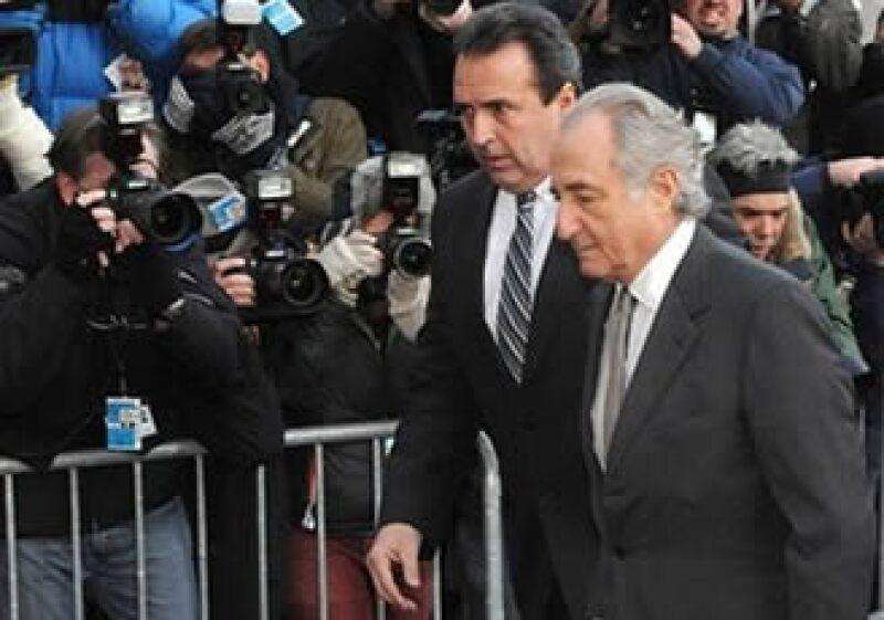 Bernard Madoff se declaró culpable de 11 cargos de fraude. (Foto: AP)
