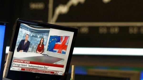 La incertidumbre tras la votación británica sobre su salida de la UE afecta a las bolsas internacionales.