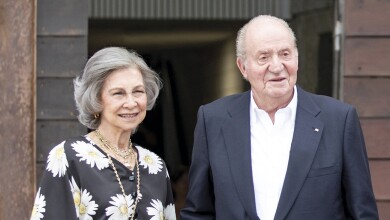 Reina Sofía y el rey Juan Carlos