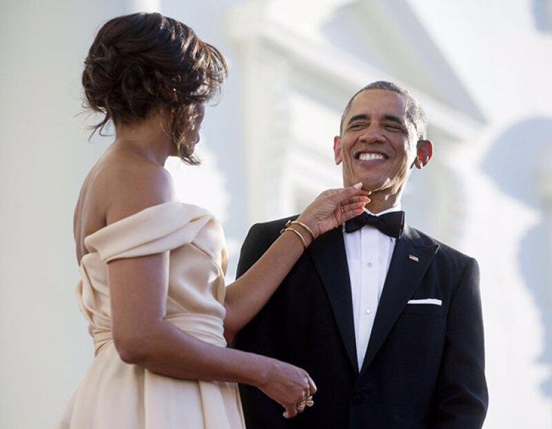 La primera dama publica en su Instagram una emotiva felicitación de cumpleaños para el presidente, que cumple 55 años en la recta final de su estancia en la Casa Blanca.