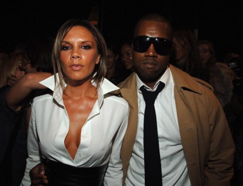 Parece que Victoria y Kanye son amigos desde hace muchos años.
