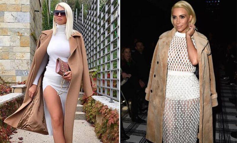 Estos fueron algunos de los looks de Kim Kardashian durante su paso por París Fashion Week.