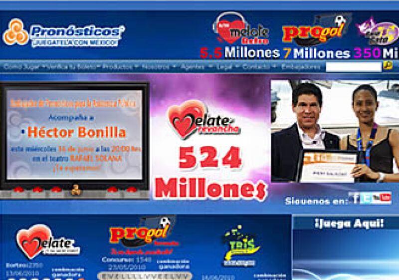 Melate suele ser uno de los juegos de azar más comunes en México.  (Foto: Cortesía Pronósticos )