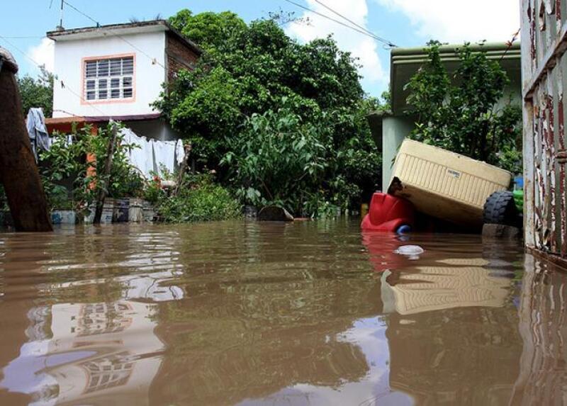 Vivienda inundada