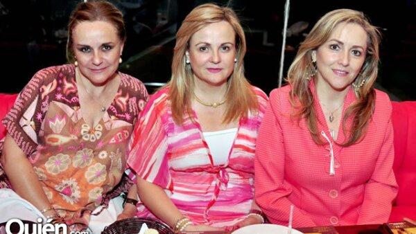 Guadalupe Valdés, Paty Valdés y Cecy Garza