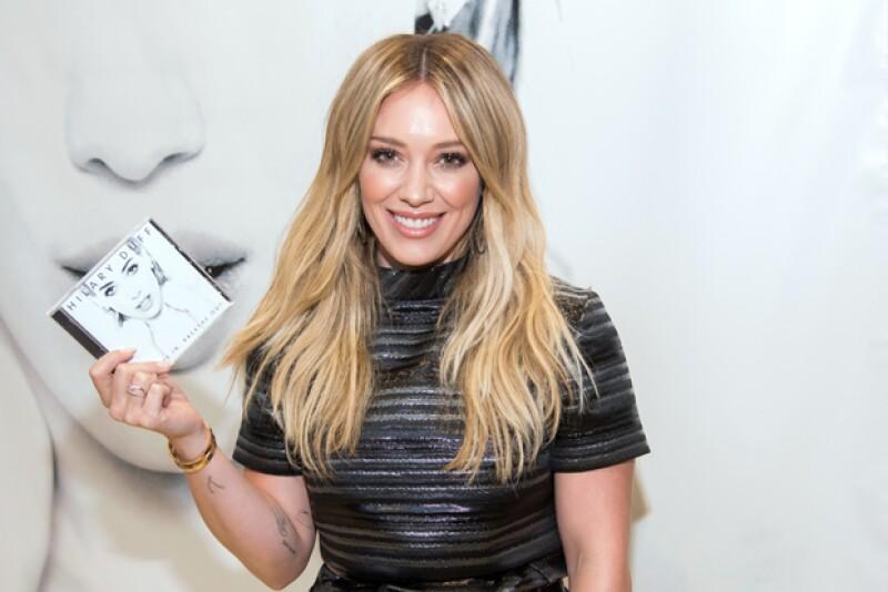 Hilary Duff acaba de lanzar su nueva producción discográfica.