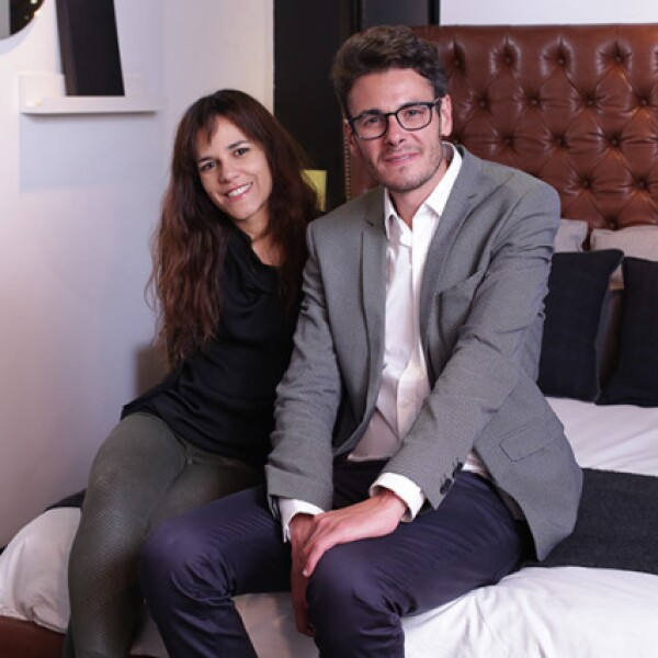 Tatiana Torrealba y Jaime Hernández