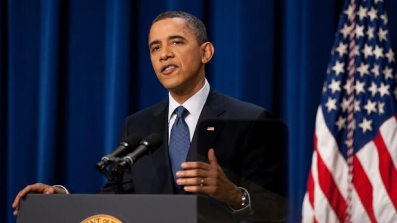 El presidente Obama aseguró que aumenta la presión contra Gadhafi