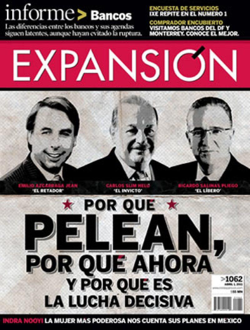 La edición del 1 de abril de la revista Expansión. (Foto: Cortesía)