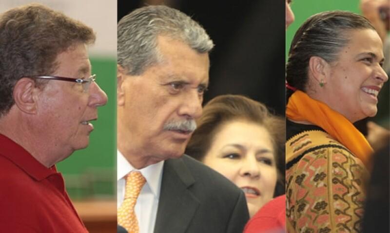 Carlos Alazraqui, Enrique Jackson, Isabel Miranda de Wallace y Beatriz Paredes fueron algunas de las personalidades que asistieron a la presentación del libro de Enrique Peña Nieto.