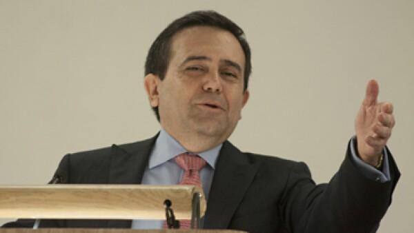 El actual secretario de Economía, Ildefonso Guajardo.