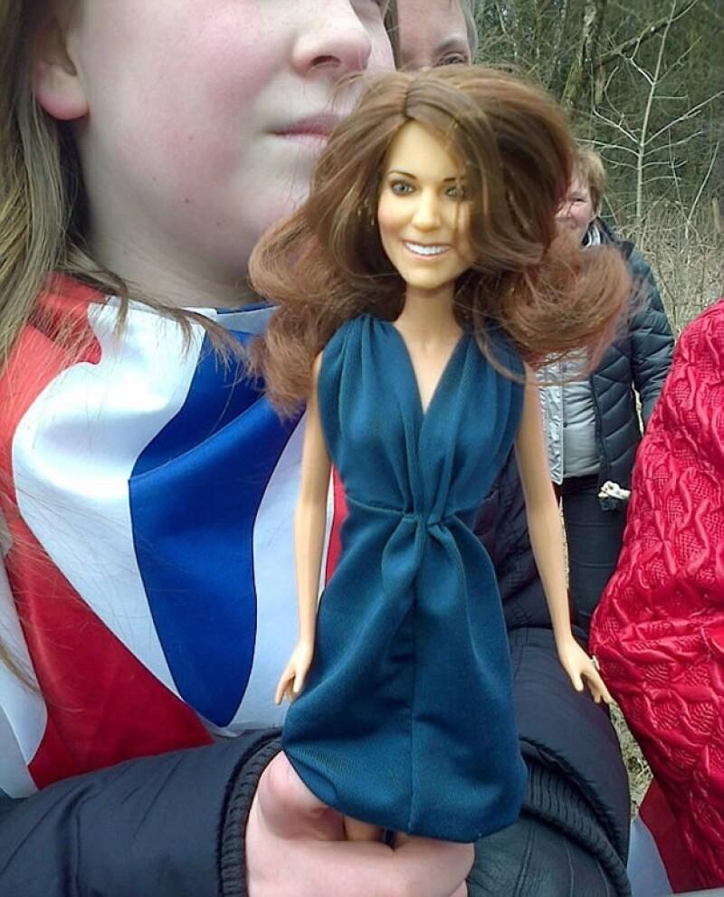 Esta réplica de Kate Middleton se hizo con motivo de su enlace con Guillermo.