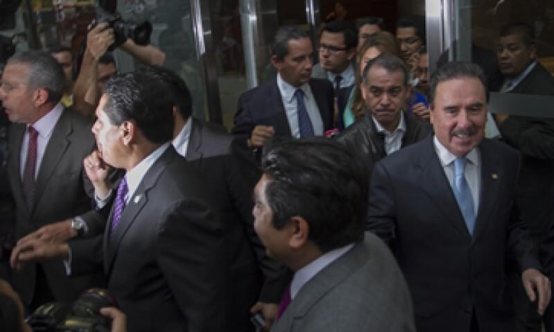 La tarde del jueves se reunieron en privado los líderes de las principales bancadas del Congreso. (Foto: Cuartoscuro)