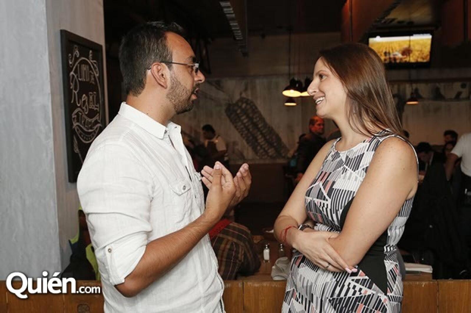 Francisco Muñoz y Sara Hadid