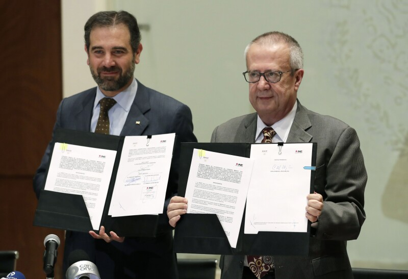 INE y Secretaría de Hacienda firmaron convenio