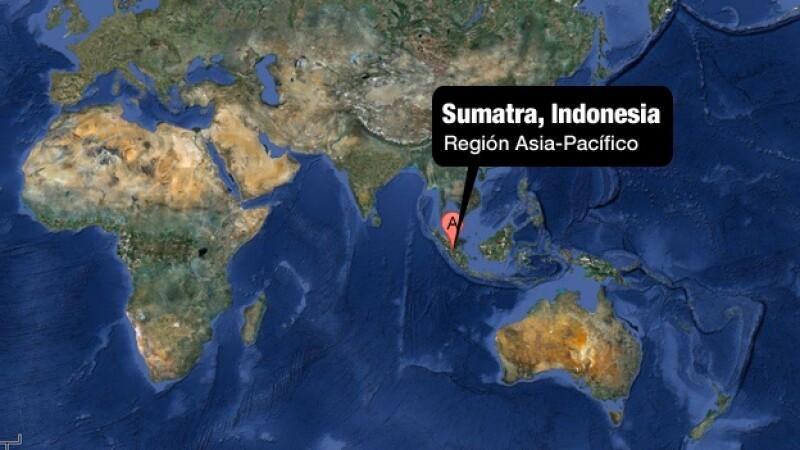 Un terremoto golpea al norte de Sumatra