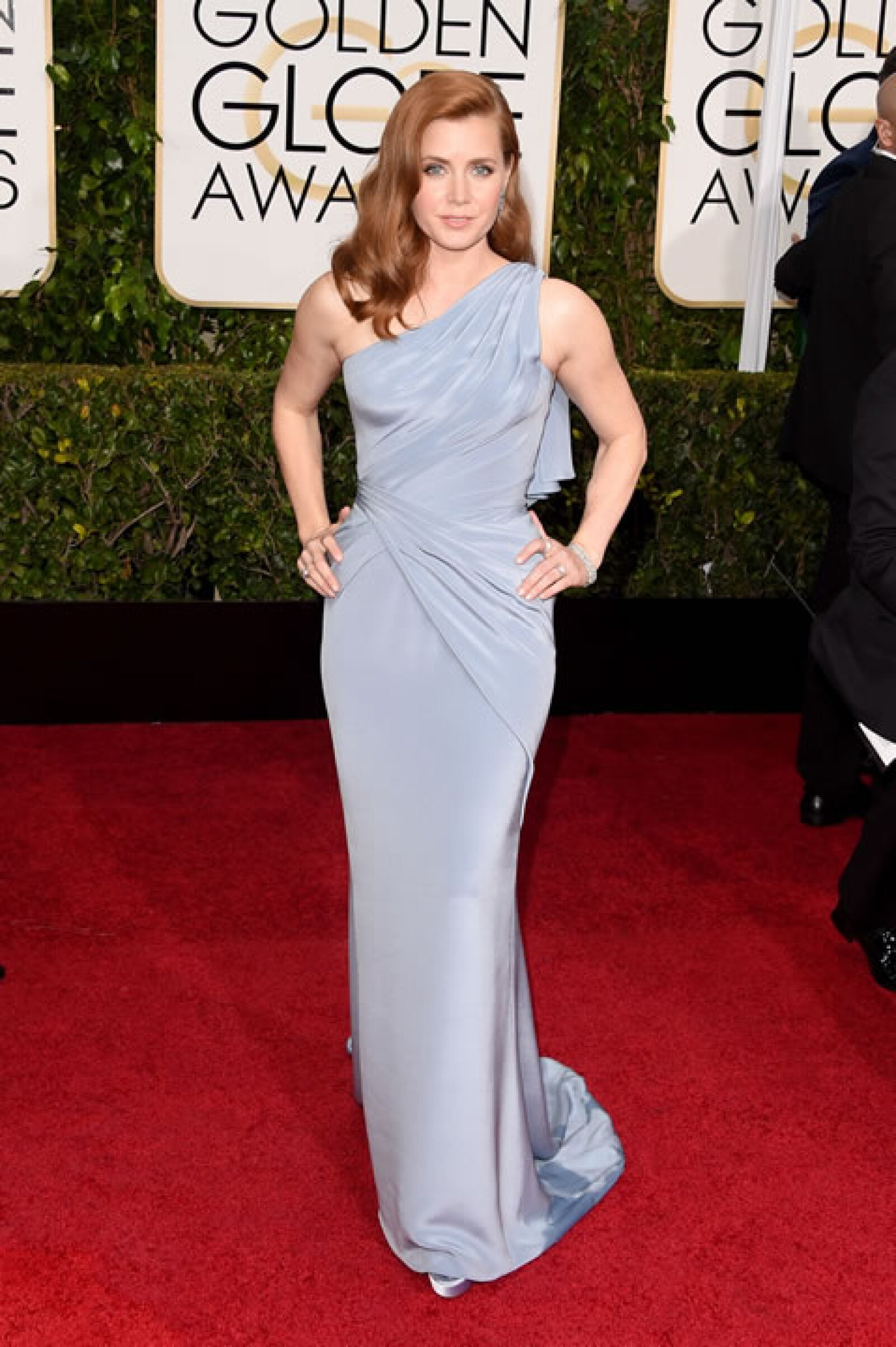 Amy Adams en Versace.