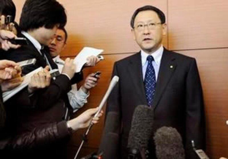 Akio Toyoda reconoció que Toyota, la mayor empresa automovilística del mundo, creció con demasiada rapidez. (Foto: Reuters)