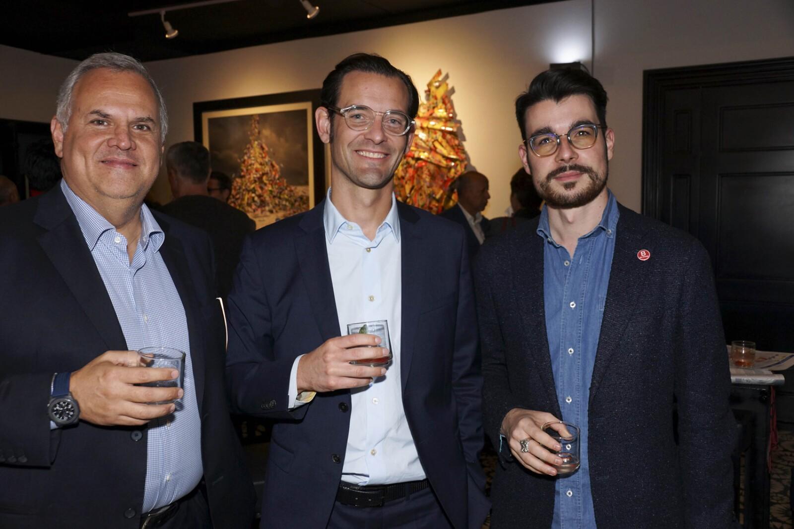Jose Luis Olivero, Maxime Michel, Remi Martini.jpg