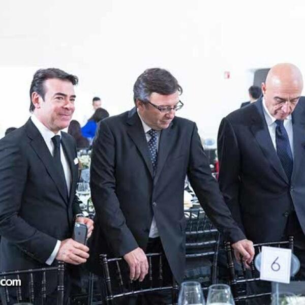 Toño Maury,Manuel Quintanero y Pedro Torres