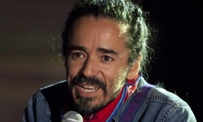 Rubén Albarrán, vocalista de Café Tacvba e integrante del llamado Aho Colectivo. (Foto: AP)