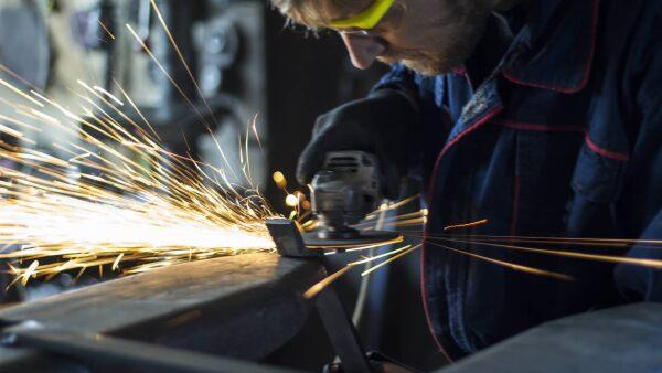 Obrero trabajo fabrica