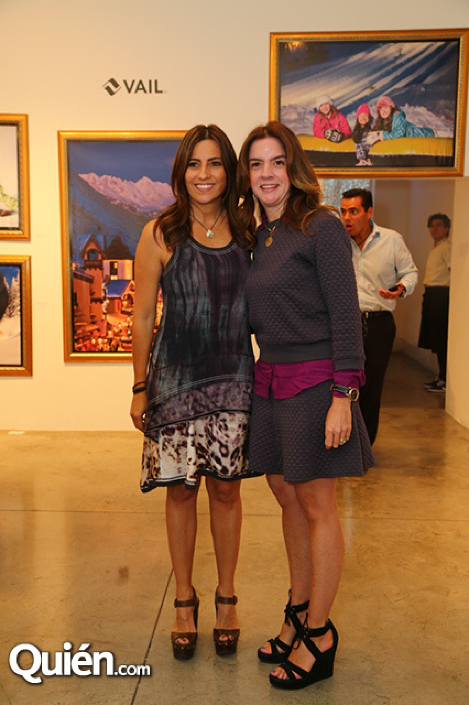 Dinorah Climent y Patricia Mozo