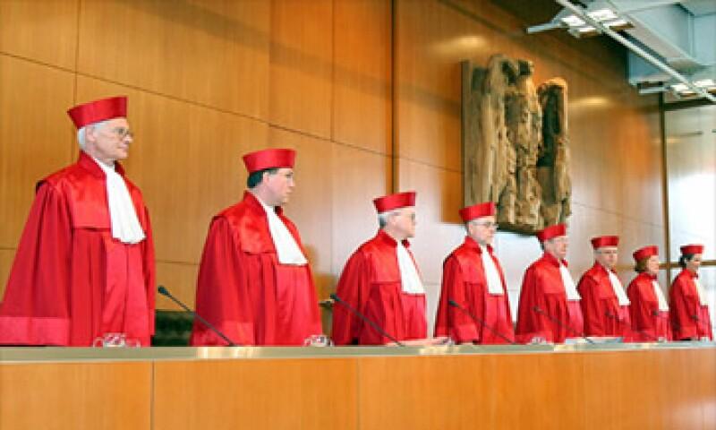 El Tribunal Constitucional alemán quedó de presentar su respuesta el 12 de septiembre.  (Foto: Cortesía CNNMoney)
