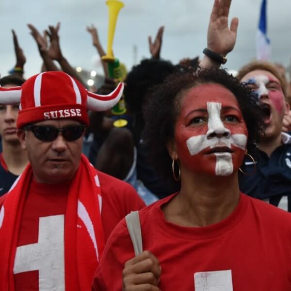 Suiza vs  Francia