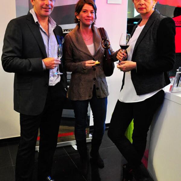 Luciano Gerbilsky, Winda Berkowitz y Mayalen Elizondo