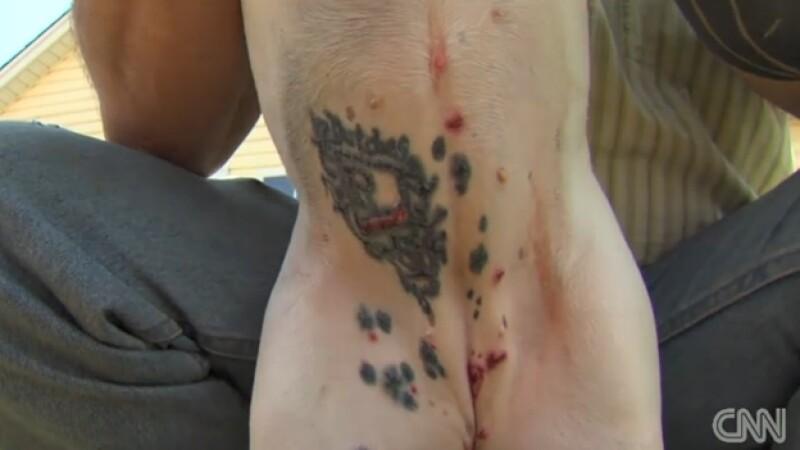 tatuaje en perro