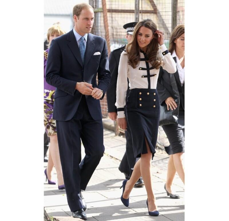 Los Duques de Cambridge se coordinaron perfecto con sus outfits.
