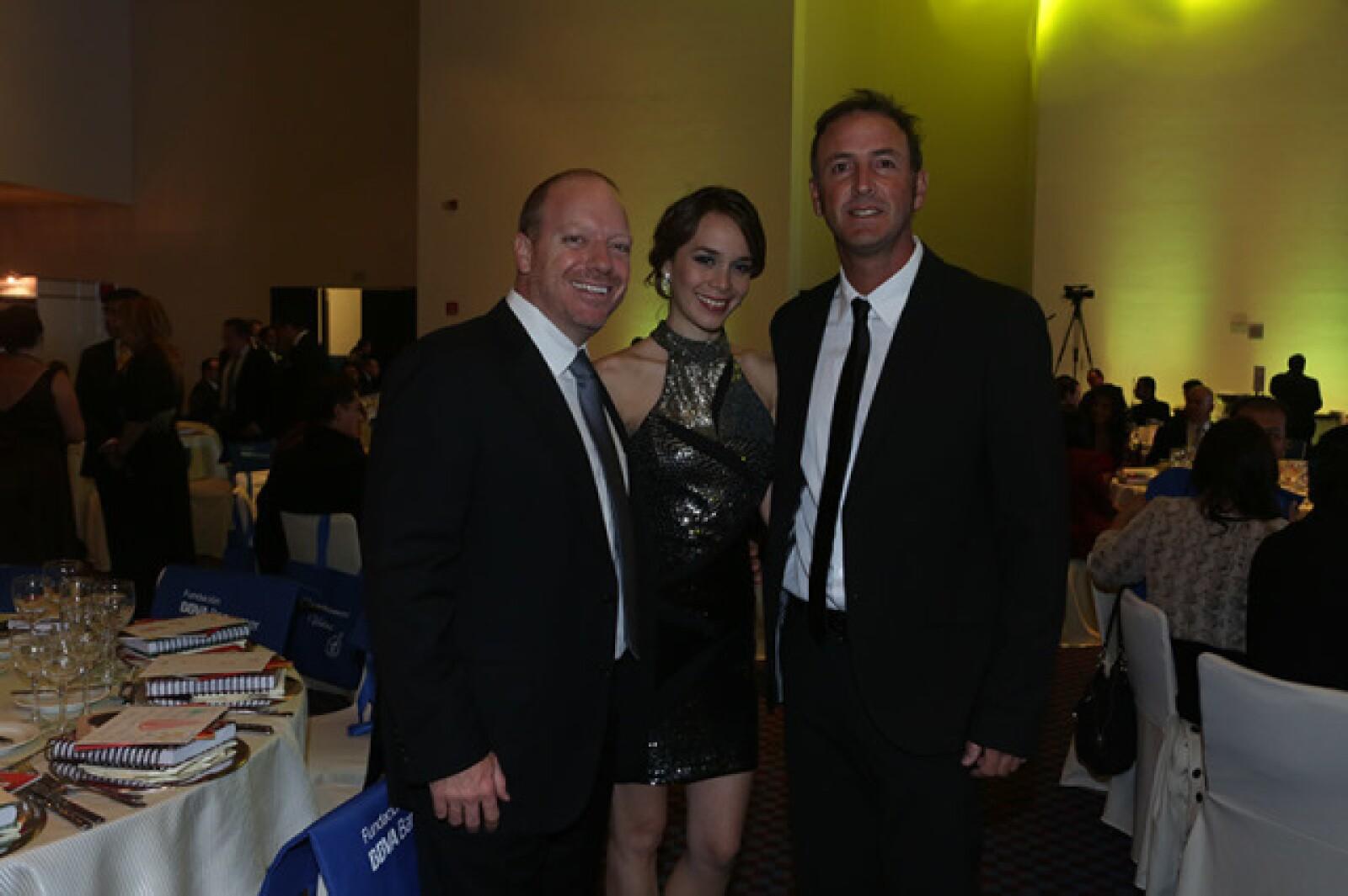 Sven Wallsten,Fabiola Arango y Jorge Goeters