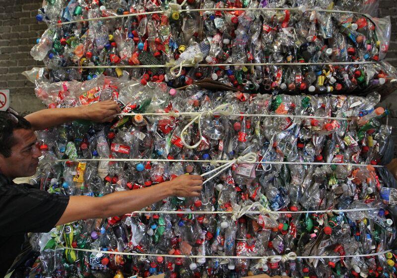 Exceso de plastico