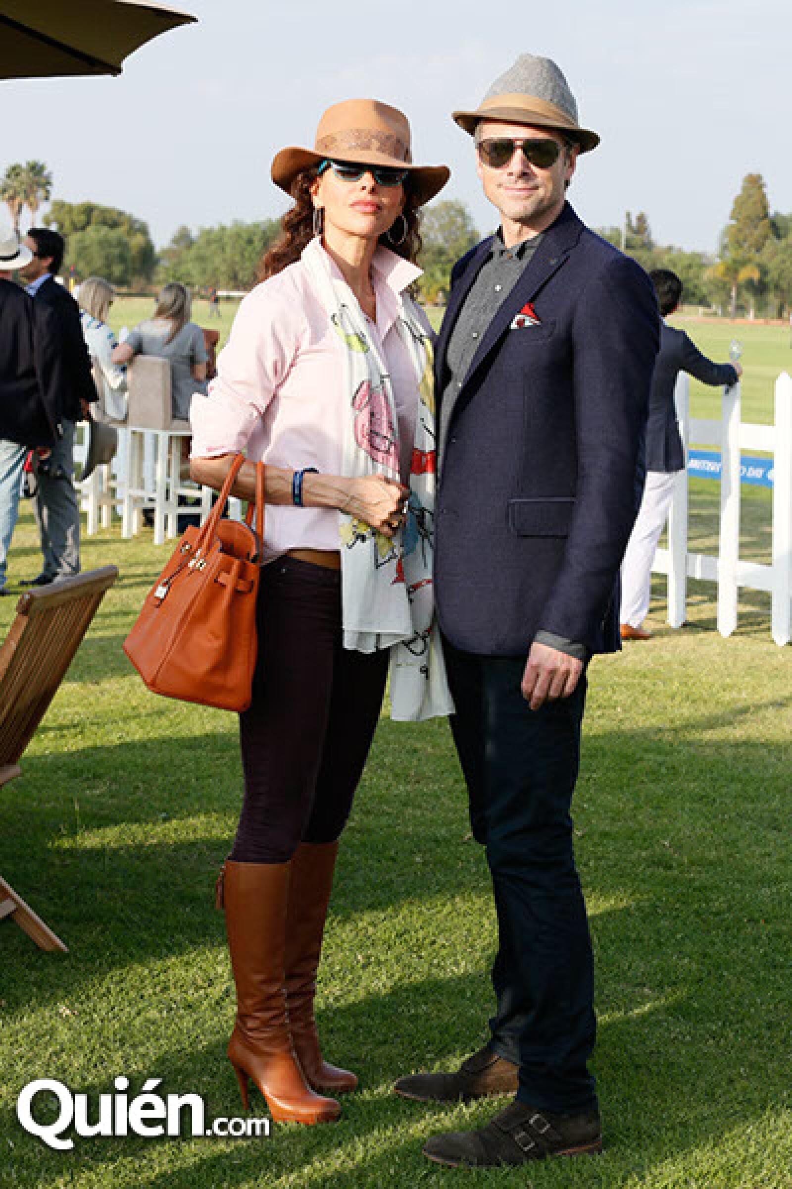 Elena Rezza y Hugo Van Belle