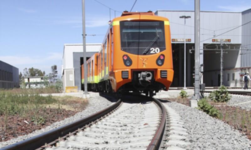 El tren original era de ocho vagones, pero el que se usa es de 7, dice el consorcio. (Foto: Cuartoscuro)