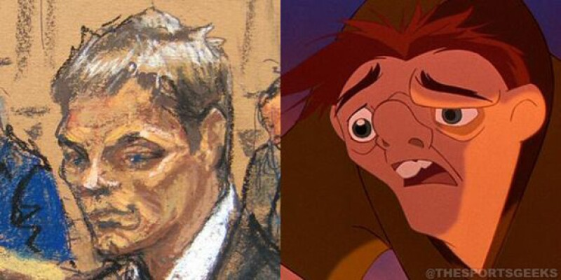 Algunos de los memes que estuvieron circulando por Twitter fueron con referencia a Quasimodo.