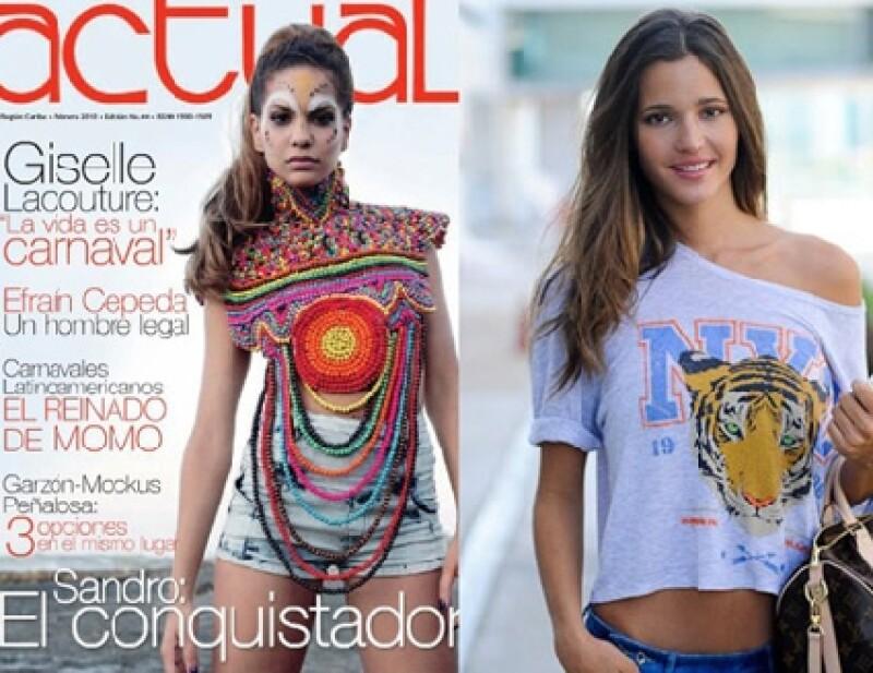 La novia de Puyol, Giselle, y la ex, Malena Costa ¿Quién es más guapa?